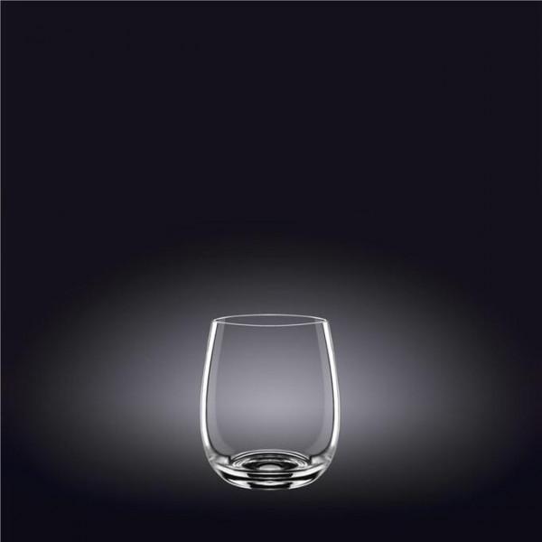 Набор стаканов для виски 370мл х 6шт в белой упаковке(WL-888021/6А)