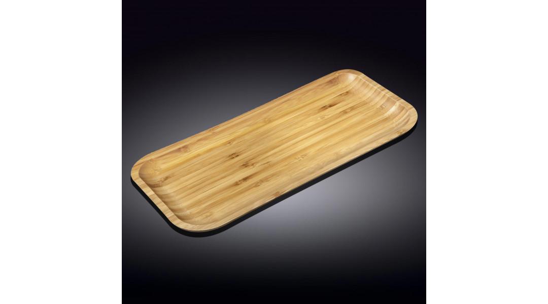 Бамбуковое блюдо прямоугольное 50см X 20.5см(WL-771186/A)