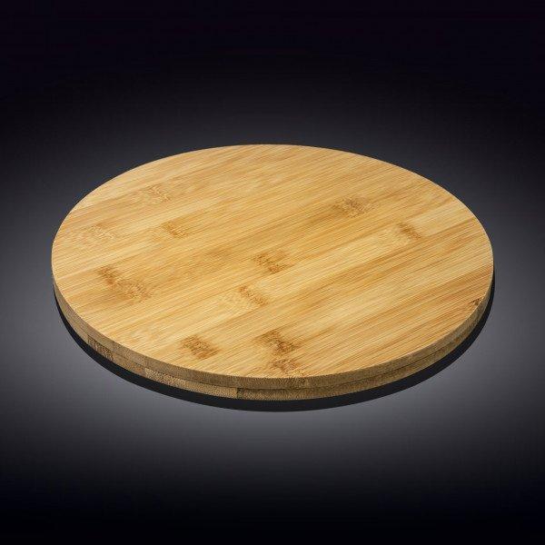 Бамбуковая подставка для пиццы 30,5см X 4см(WL-771079/A)