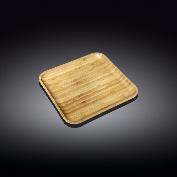 Бамбуковое блюдо квадратное Wilmax 15см х 15см(WL-771019/A)