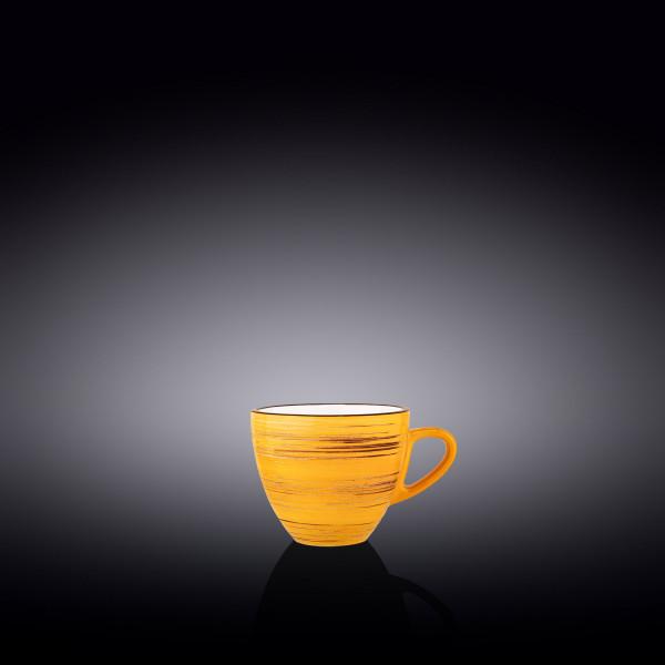 Чашка Wilmax SPIRAL YELLOW  300 мл WL-669436/A