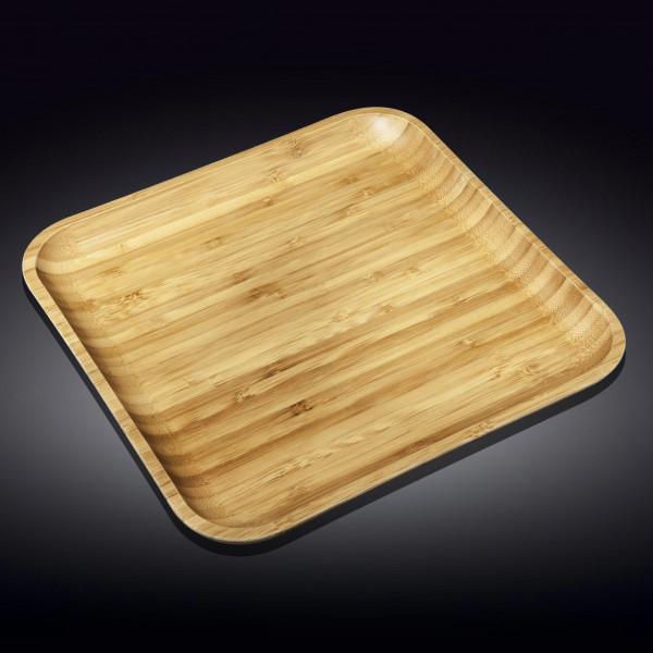 Бамбуковое блюдо квадратное 50см х 50см(WL-771178/A)