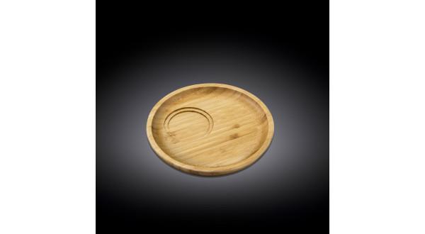 Бамбуковое блюдо круглое Wilmax 17.5см(WL-771112/A)