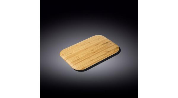 Бамбуковая сервировочная прямоугольная доска 23см x 12.5�...