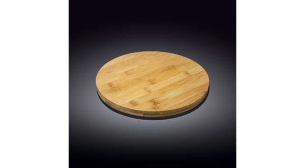 Бамбуковая подставка для пиццы 23.5см х 3.5см круглая(WL-7710...