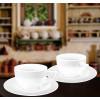 Набор: Кофейная чашка 90 мл и блюдце 6 пар